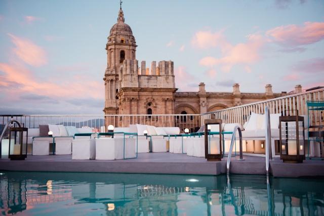 cinco mejores terrazas de malaga